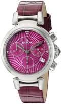 Edox Women's 10220 3C ROIN LaPassion Analog Display Swiss Quartz Watch
