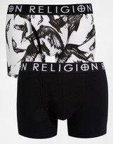 Religion 2 Pack Boxers