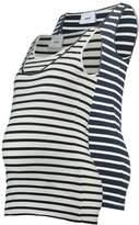 Mama Licious MAMALICIOUS MLLEA NELL 2 PACK Vest navy blazer