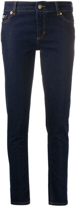 Versace Jeans Couture High Rise Skinny Fit Jeans