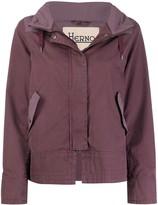 Herno denim-effect drawstring jacket