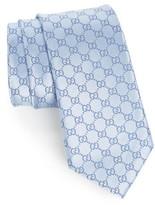Gucci Men's Federa Silk Jacquard Tie