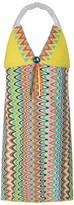 Pate De Sable Multi-Coloured Print Beach Dress