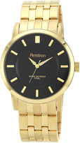 JCPenney Armitron All Sport Mens Gold-Tone Sunray Watch