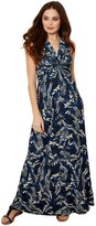 Joe Browns Printed Maxi Dress - Blue