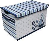 Bacati Little Sailor Storage Toy Chest