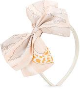 Hucklebones London - bow tie hairband - kids - Silk - One Size