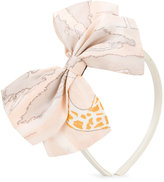 Hucklebones London bow tie hairband