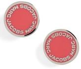 Marc Jacobs Women's Logo Disc Stud Earrings