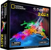 Laser Pegs National Geographic 24-in-1 Space Light-Up Construction Set by