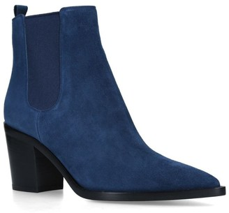 Gianvito Rossi Suede Romney Boots 70