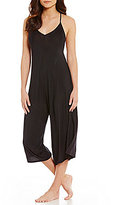 Felina Solid Knit Lounge Jumpsuit
