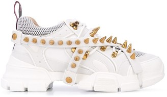 Gucci Flashtrek removable spikes sneakers