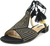 Kensie Katara Open Toe Canvas Gladiator Sandal.