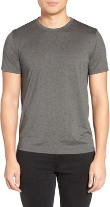 Theory Silk & Cotton Crewneck T-Shirt