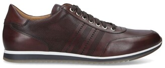 Magnanni Perforated Leather Sneakers