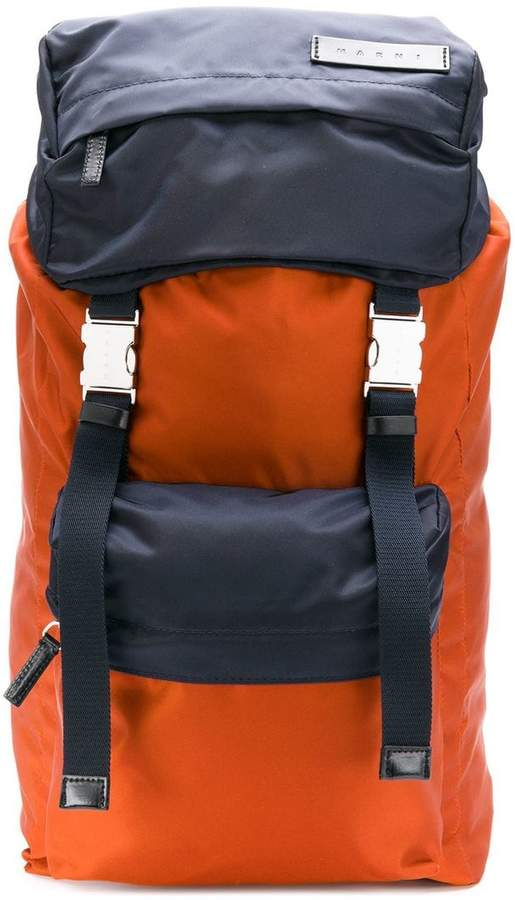 Marni bicolour backpack