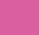 Camilla And Marc SheetWorld Fitted Bassinet Sheet - Primary Pindots Pink Woven - Made In USA - 15 inches x 32 1/2 inches (38.1 cm x 82.6 cm)