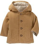 Corduroy hoodie jacket