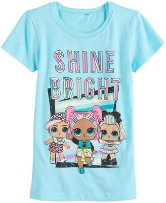 Freeze Girls 7-16 LOL Surprise Shine Bright Short Sleeve Tee