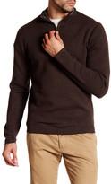 Jack Spade Smithfield Half-Zip Wool Blend Sweater