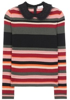 RED Valentino Wool, Angora And Cashmere-blend Sweater