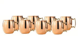 Old Dutch 2 Oz Solid Copper Moscow Mule Mug Shots, Set of 8