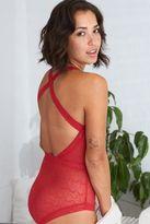 aerie Lace Cutout Bodysuit