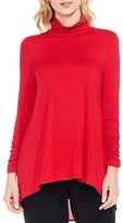Vince Camuto Women's Ruched Sleeve Turtleneck