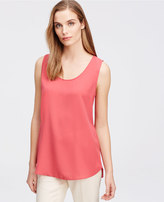 Ann Taylor Crepe Shell