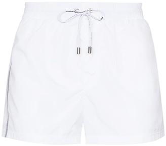 Dolce & Gabbana Logo-Stripe Swim Shorts