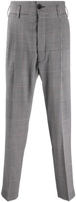 Vivienne Westwood George checked slim-fit trousers