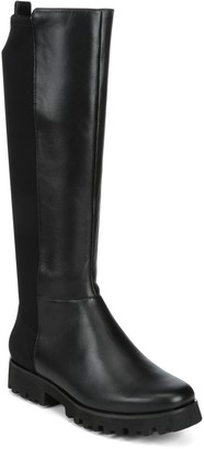 Donald J Pliner Ryker Leather Lug Boot