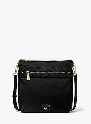 Michael Kors Jet Set Large Nylon Gabardine Messenger Bag