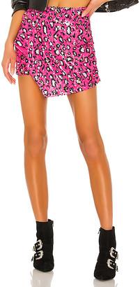 superdown Selma Sequin Overlay Skirt