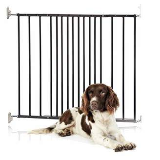 Safetots Extending Metal Pet Gate, 62.5 to 106.8 cm, White