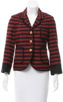 Smythe Striped Wool Blazer
