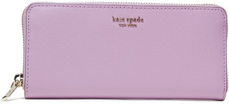 Kate Spade Sylvia Textured-leather Continental Wallet