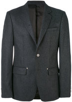 Givenchy single breasted jacket - men - Cupro/Wool - 48