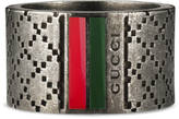 Gucci Wide ring with Diamante motif