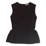 Christian Dior Black Cotton Top