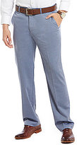 Murano Zac Modern Classic Fit Flat-Front Herringbone Pants
