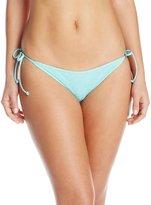 Volcom Women's Smoke Signals Skimpy Bikini Bottom