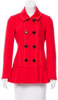 Kate Spade Double-Breasted Short Coat