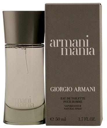 Giorgio Armani Mania Eau De Toilette Spray for Men