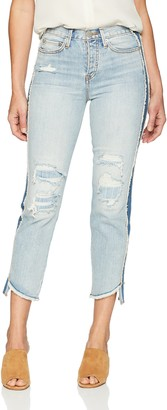 True Religion Women's Starr High Rise Straight Crop