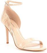 Gianni Bini Shayla Two Piece Lizard Print Patent Leather Dress Sandals