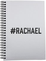 Fotomax Notebook with #RACHAEL