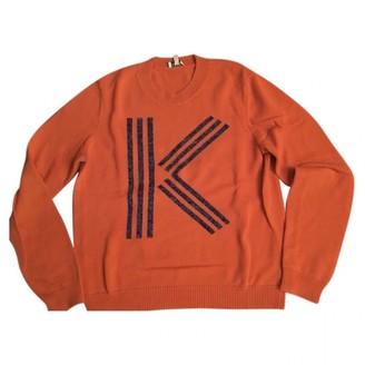 Kenzo Orange Cotton Knitwear for Women