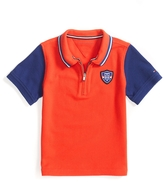 Tommy Hilfiger Half Zip Colorblocked Polo